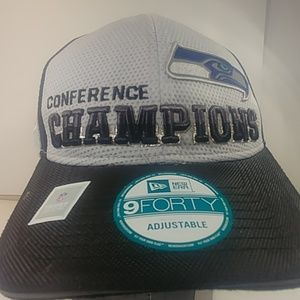 New Era Accessories - Seattle Seahawks Conference Champions Cap Hat